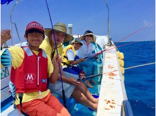 [本地減少!限時價格僅適用於居住在沖縄客戶! ]輕鬆釣魚,即使是初學者也可以從小孩那裡隨便享受の紹介画像