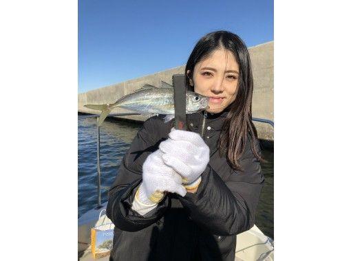 【東京・羽田】激安!「アジ」乗り合い船★7名までOK♪120分  釣った魚を食べれるお店紹介可!