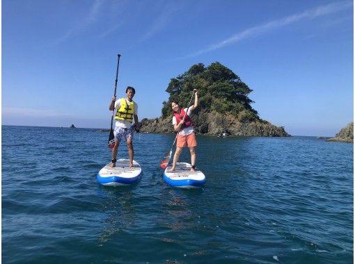 【福井県 高浜町 和田浜】きれいな水と砂浜の和田浜でのんびりSUPで水上散歩体験たっぷり120分の紹介画像