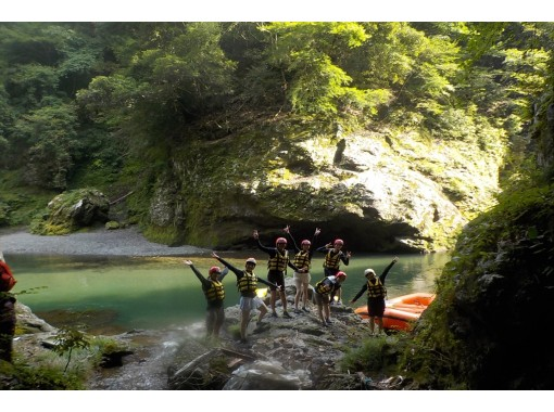 [Yamanashi / Otsuki / Katsura River / 70 minutes from Tokyo / 40 minutes from Fuji Five Lakes] Katsura River NO1 Long Course / Rafting / From 5800 yen per personの紹介画像