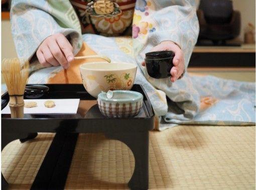 【京都・下京区】京都で大人気の常設プログラム!舞妓さんと一緒にお点前体験(プレミアムコース)五条駅より徒歩1分!