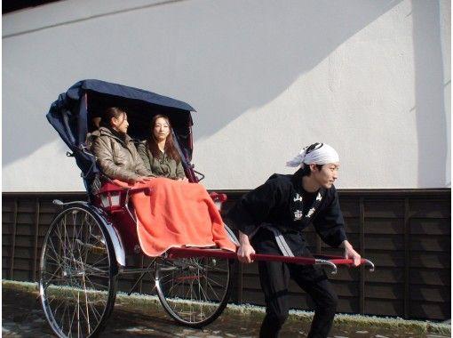 【新潟・加茂】人力車で風情ある加茂の街並みを散策&豊かな四季を味わう老舗料亭「山重本店」ランチ付きプランの紹介画像