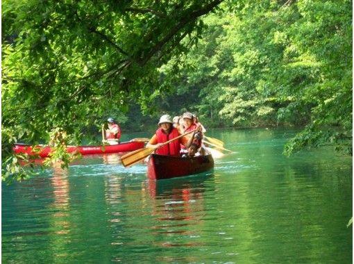 【長野・大町市 カナディアンカヌー】レンタル~透明度抜群の青木湖で気ままにクルーズを楽しもう~