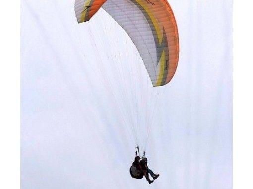 【長野・白馬】2人乗りタンデムパラグライダー!高度差750m【アルプス平コース】の紹介画像