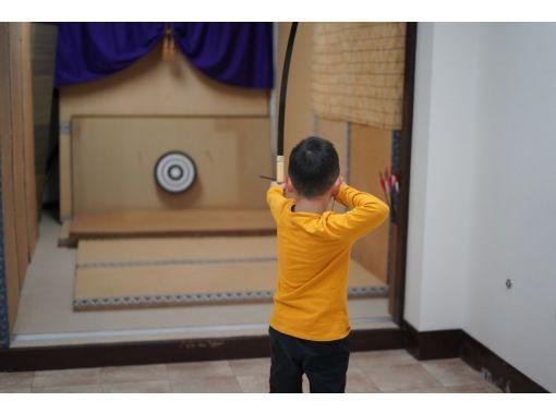 東京でおすすめ!雨の日アクティビティ2位:弓道体験