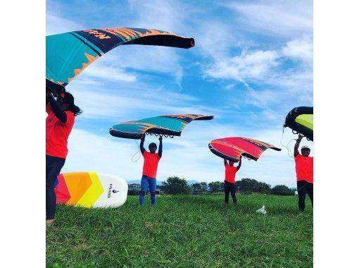 【滋賀・琵琶湖】WING(ウィング)スクール♪『びわ湖』でWING体験♪【初めての方、お一人様大歓迎!】の紹介画像