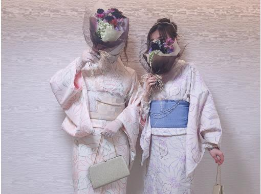 """京都G園和服租賃計劃最多容納6人以上的團體! """"高級計劃""""の紹介画像"""