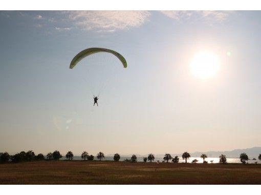 大阪舞洲スポーツアイランド De パラグライダーソロ体験コース の紹介画像