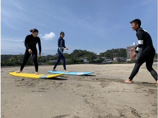 [Chiba / Katsuura] Enjoy surfing experience in the beautiful sea around Katsuuraの紹介画像