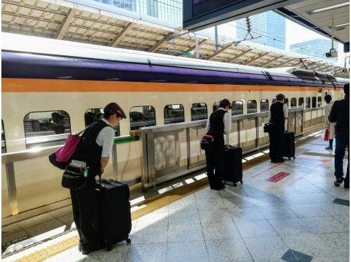 【新幹線&東京・品川・成田空港駅ガイドツアー】新幹線の意外なスポットをご案内★リクエスト予約積極的に対応します!