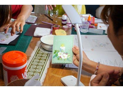 【初心者OK】パーチメントクラフト体験 ~宮崎で唯一の教室で学ぶ、繊細な紙のアート@宮崎・新富町の紹介画像
