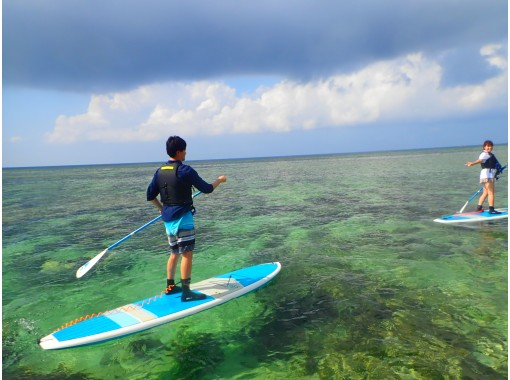 """[Ishigaki Island / Half Day] Aim for the much-talked-about """"Blue Grotto""""! SUPor canoe tour going to the sea in the national park [photo data free]の紹介画像"""
