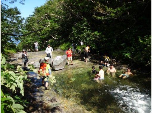 知床五湖とカムイワッカ湯の滝ツアーの紹介画像