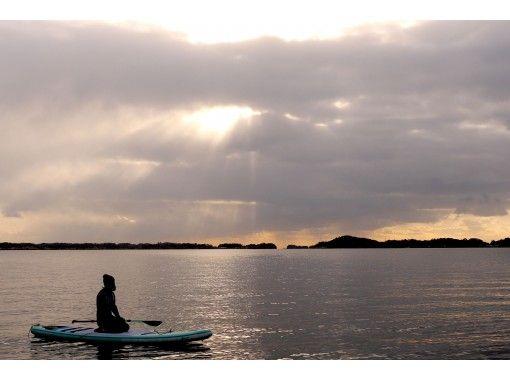 [Miyagi / Matsushima] Calm morning! Three Views of Japan Matsushima / Oku Matsushima SUP Sunrise Tour (with photo gift)の紹介画像