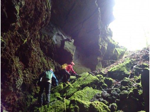 1グループ貸切開催 【未知先案内ツアー】大噴火口と溶岩洞窟を巡る (カップル割引・女性割引実施中)