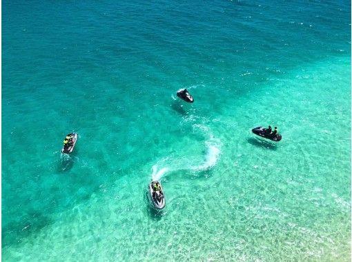 【沖縄県・沖縄市】ジェットスキー乗船初級向けツーリングコース!インストラクター乗船で免許がなくても安心!