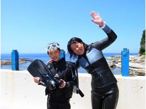 【兵庫・竹野】マンツーマンで体験ダイビング!初心者歓迎!お一人様も大歓迎!お子様も大歓迎!の紹介画像