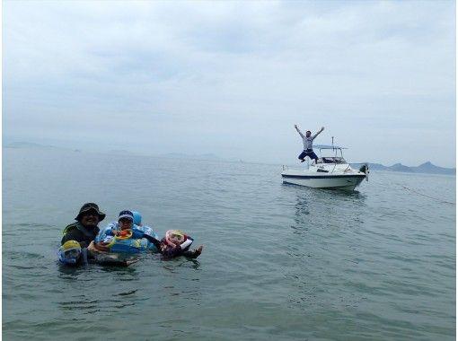 [松山/道后]在濑户内海享受大海!船长经验,钓鱼,偏远岛屿的BBQ,花式滑水板♪の紹介画像
