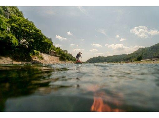 ペアやお一人様でもOK! 長良川でリバーSUP体験半日コース♬
