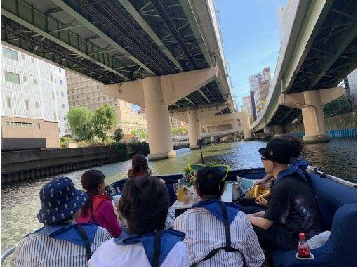【大阪・難波発】水門通過体験60分クルーズコース