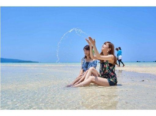 【沖縄・小浜島】絶景の『幻の島』でサンセットタイム!絶景を味わうサンセット体験!