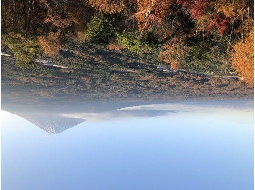 【パワースポット富士山&紅葉】日本一の霊峰富士で運気アップ!河口湖の人気パワースポット『黄金の七福神』をMTBで巡る!もみじ回廊も散策!の紹介画像