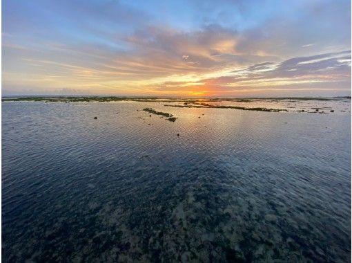 【本島中部】サンセット&スターナイトウォーク☆!夜のビーチで生き物探し探検!星空フォト無料で撮ります!