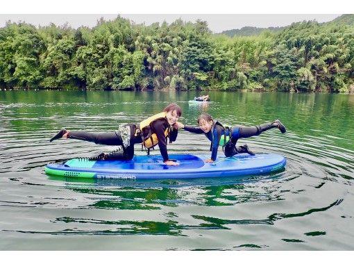 【岐阜・川辺】初心者歓迎 ♪ 飛騨川サップ・SUP体験!(2時間コース)の紹介画像