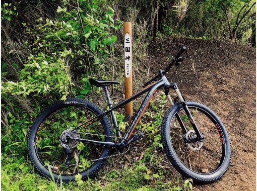 【富士山・山中湖・五輪】幻のオリンピック自転車ロードレースコースを走る!MTB登坂ツアー!の紹介画像