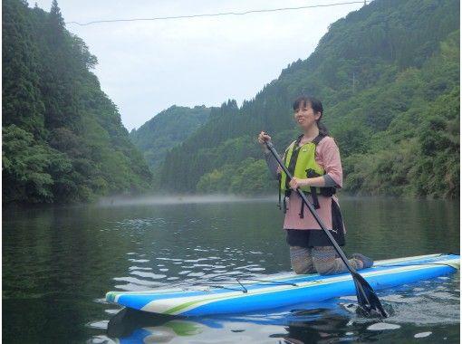 【熊本・蘇陽峡】スタンドアップパドル体験【初心者向け!】の紹介画像