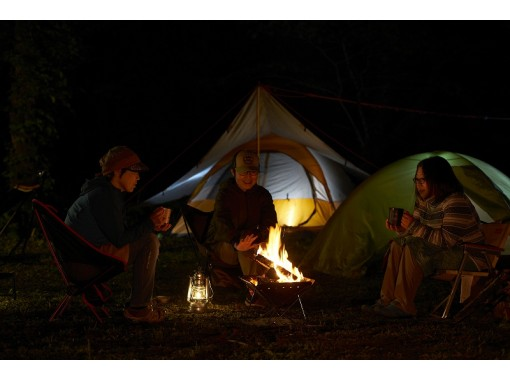 【秋田県・白神山地】手ぶらでOK!ガイド付き森キャンプ体験!電波の届かない聖地へ。白神山地の中にあるキャンプ場に泊まるトレッキングツアー