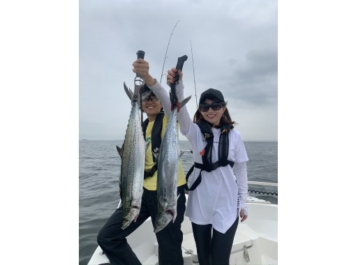 """[Tokyo Station Chika / Tsukiji Station. Kachidoki Station] """"Completely chartered boat"""" only for family and friends. Let's enjoy boat fishing easily!の紹介画像"""