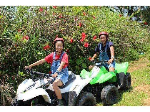 【沖縄北部】アクティブ派にオススメ!フライボード体験&バギーツアーのお得セットプラン♪♪