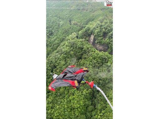 【岐阜バンジー・新旅足橋】高低差215mの日本一高いブリッジバンジージャンプ!! GoPro無料レンタル&動画データサービス中!の紹介画像