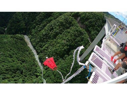 [기후 번지 새로운 여행 다리 다리] 고저차 215m의 일본에서 가장 높은 브리지 번지점프! ! GoPro 무료 렌털 및 동화 데이터 서비스 중!の紹介画像