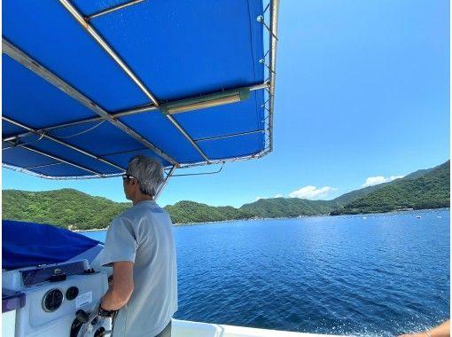 【愛媛・松山】無料送迎付!ボートでシュノーケリング!船でしか行けない神社へ参拝した後はサンゴの広がる海へGO!!