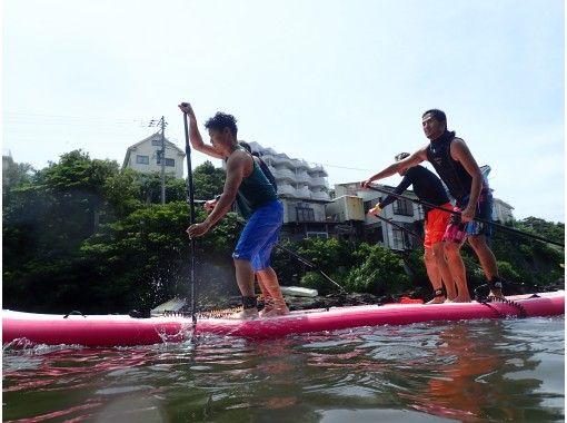 [Kanagawa / Miura] NEW! Big SUP to enjoy with family and groupの紹介画像