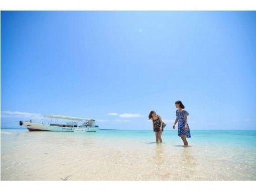 【沖縄・小浜島】《幻の島》&《シュノーケリング》&《バナナボート》体験(半日プラン)