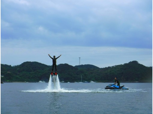 [Shizuoka /Shimoda] For beginners! Flyboard experience 20 minutes course It is safe with a beginner's lecture ☆ 彡 OK from 12 years oldの紹介画像