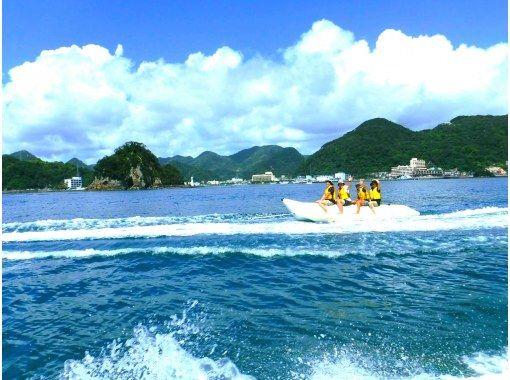 [静冈/下田]香蕉船浮潜体验の紹介画像