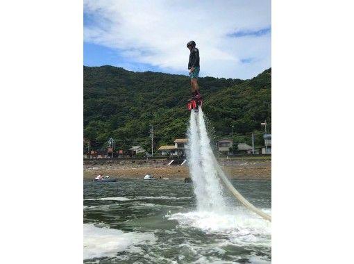 【静岡・下田】フライボード+ジェットスキー体験 ☆お得なセットプラン☆