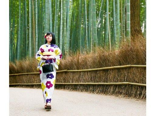 "Local coupon dealer [Gion / Kiyomizu-dera] Kimono rental / everything you need is included! Gorgeous furisode plan ""Kyoto experience immediately after wearing Kiyomizu-dera soba! 』\の紹介画像"