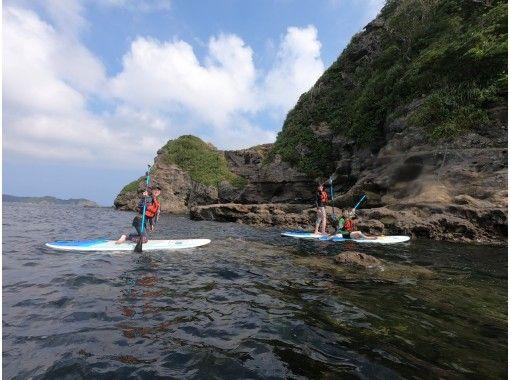 【千葉・勝浦】綺麗で自然豊かな勝浦湾でSUPを楽しもう!初心者向けSUP体験ツアー♪の紹介画像