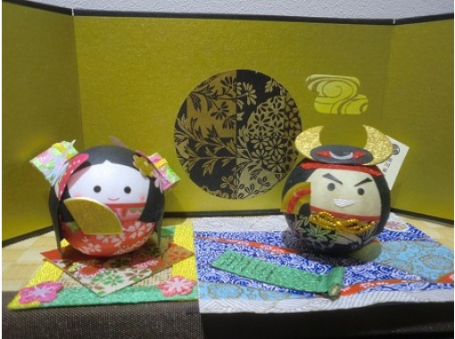 """[Gifu / Mino] Handmade experience of """"Washi Korokoro Warlords Series"""" in a historic townscape! Recommended for families and girls traveling! [Free service] Gachapon once!の紹介画像"""