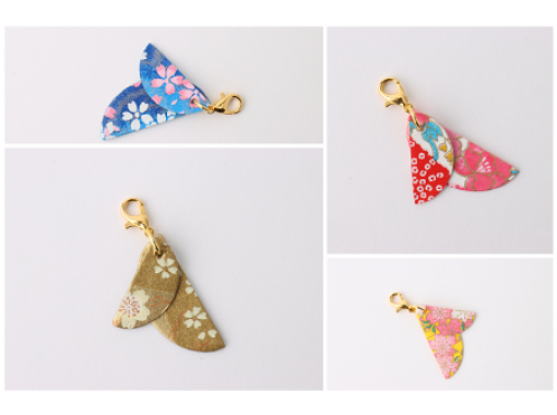 [Gifu / Mino] Recommended for girls traveling! Cute Mino Japanese paper mask charm handmade experience!の紹介画像