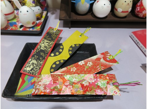 """[Gifu / Mino] Great value with a set ♪ """"Washi Korokoro"""" + """"Washi Bookmark"""" handmade experience! Recommended for families and couples! [Free service] Gachapon once!の紹介画像"""