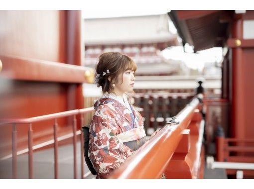 【東京/銀座】由攝影師陪同的拍攝計劃!專業品質的和服!陪專業攝影師的計劃終於發售了♪6月到9月的浴衣也OK!の紹介画像