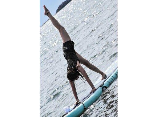 [Kanagawa / Shonan] Chigasaki SUP Cruise & Yoga (with photo shoot) All Komi! Half-day plan!の紹介画像
