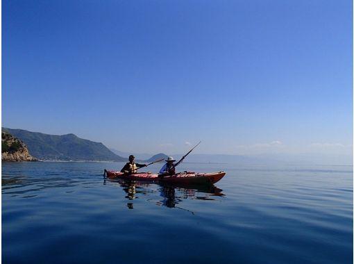 [Kagawa 】 Play plenty in the sea! One day Kayak ・ Trip [1 day]の紹介画像