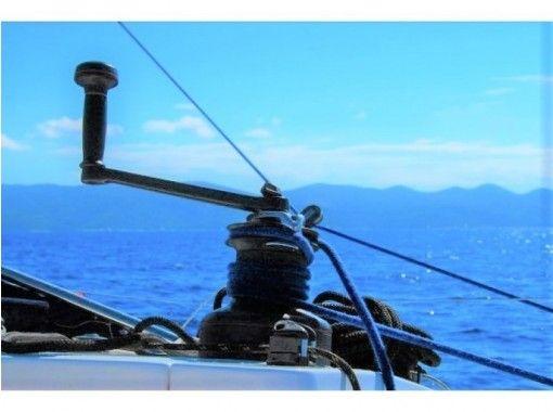 シニア向け(大分 別府湾)ヨットクラブへ入会、いつでも別府湾を満喫!会員向けヨット体験